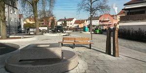Stadt Plattling Neugestaltung Jahnplatz