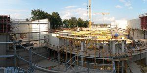 Waldwasser Neubau Wasserwerk Moos